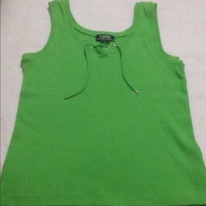 Lauren Ralph Lauren Tops - Ralph Lauren Large Green tank top